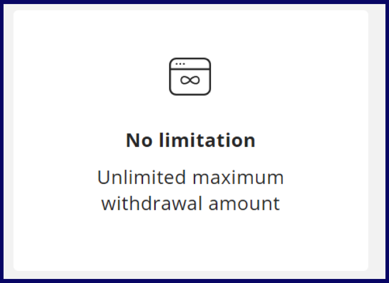 OlympTrade limits for withdraw